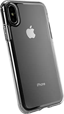 buy online 19ba3 44242 Silk iPhone X/XS Clear Case - Nudist Frosted Clear - Protective Slim Grip  Shock Resistant Cover - Nothin' to Hide