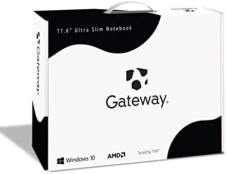 Gateway 11.6 FHD Ultra Slim Notebook, AMD A4-9120e, 4GB RAM, 64GB Storage, Tuned through THX Audio, Mini HDMI, Cortana, Webcam, Windows 10 S, Google Classroom Compatible