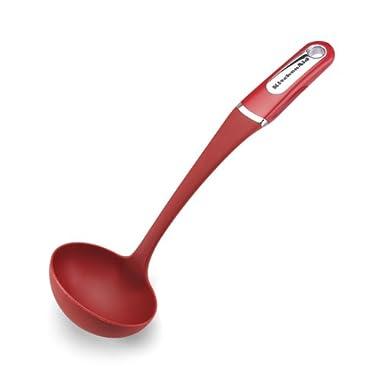 KitchenAid Nylon Ladle, Red