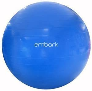 Embark Medium Anit-Burst Fitness Ball 65 cm.
