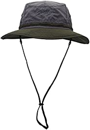 Aivtalk Outdoor Sun Hats Fishing Anti-UV 360°Solar Protection Quick Dry Fashion Boonie Summer Bucket Hats Colo