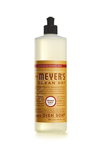orange clove dish soap - 2