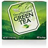 Best Great Value green tea - Great Value Decaffeinated Green Tea Tea Bags, 40ct Review