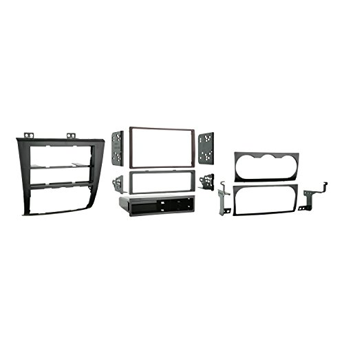 Metra 99-7423 Single DIN/Double DIN Installation Kit for 2007 Nissan Altima (Black) (Nissan Stereo Installation)