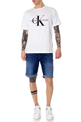 Uomo Klein Denim Jeans Shorts Calvin qOPIdxq