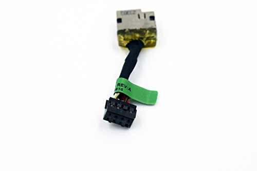 Rangale New Dc Power Jack Harness Plug Cable For HP 15-F Series 15-F059WM 15-F098NR 15-F100DX 15-F111DX 15-F162DX 15-F233WM Series 730932-YD1 (Hp Dc Power Jack)