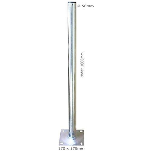 Standfuß Halter für Satellitenschüssel SAT-Antenne SAT-Spiegel Mastfuß SAT-Schüssel 1m