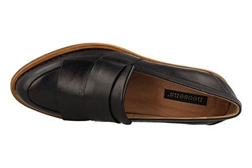 Bouvier Women's Blue Restored S580 Neosens Closed Skin Toe Heels Ebony qXwnSqvzWP