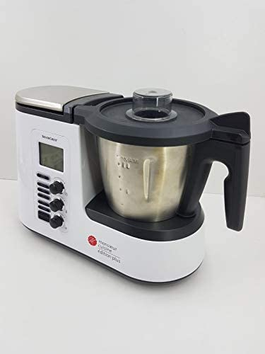 T-MIX Funda Tela Antimanchas para Monsieur Cuisine Plus, Robot del LIDL. Mod Lila: Amazon.es