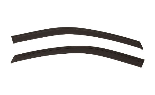 Auto Ventshade 92908 Original Ventvisor Side Window Deflector Dark Smoke, 2-Piece Set for 2008-2018 Grand Caravan, 2008-2016 Town & Country