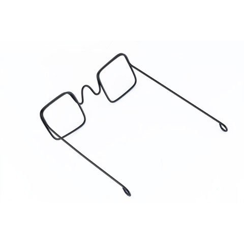 Bulk Buy: Darice DIY Crafts Doll Glasses Wire Rectangular L