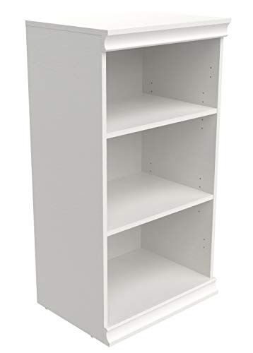 ClosetMaid 4557 Modular Closet Storage Stackable Shelf Unit White
