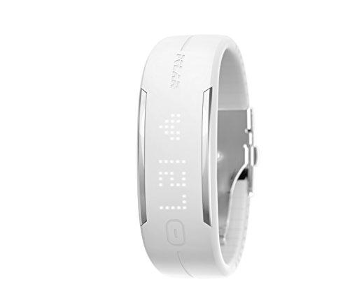 Polar Men's Loop 2 90054939 White Rubber Quartz Sport Watch