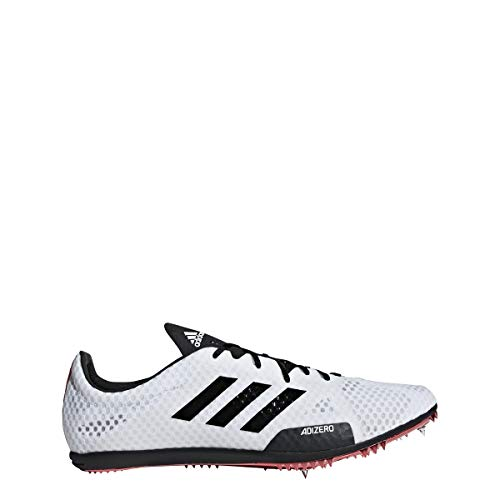 ion 4 Spike Shoe - Men's Track & Field White/Core Black/Shock Red ()