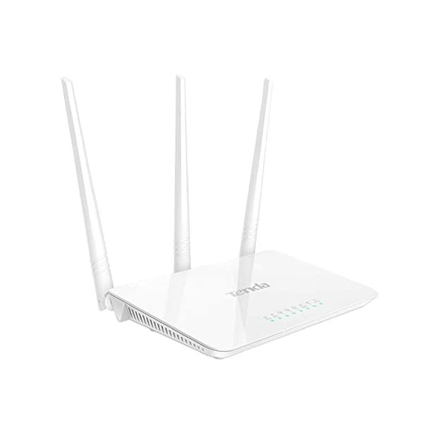 Tenda F3 300Mbps Wireless Router with 3 External Antennas - White 2021 August 3 5Dbi External Antennas Boost Wifi to Each Corner of your House, you Can Enjoy Entire-Home Wifi Coverage and Lag Wifi Performance Ip Based Bandwidth Control Allows Administrators to Determine How Much Bandwidth is Allotted to Each Pc Supports Wpa, Wpa2, Wpa-Psk Wpa2-Psk Security Mechanism to Enhance Security Level