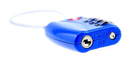 Negro Equipaje Alohha Candado Azul Para gq11xpUt8w