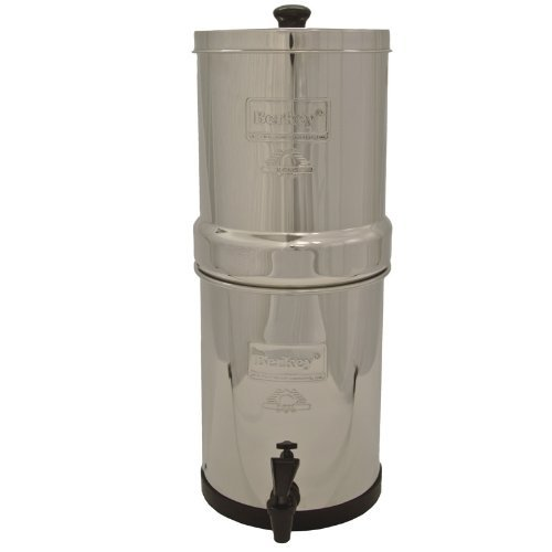 IMP6X2-BB Imperial Berkey with 2 Black Filters and 2 Flouride Filters by Berkey