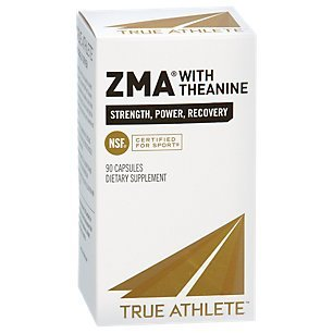 True Athlete ZMA with Theanine 90 Capsules
