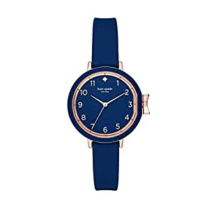 KATE SPADE Women's KSW1353 Year-Round Analog-Digital Quartz Blue Band Watch