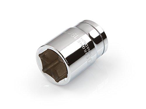 19 Mm Socket (TEKTON 14294 1/2-Inch Drive by 19 mm Shallow Socket, Cr-V, 6-Point)