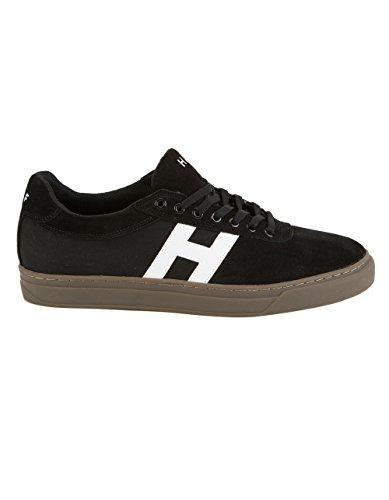 HUF Men's Soto Performance Focus Skate Shoe, Black/Gum, 9.5 Regular US