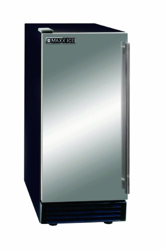 Maxx Ice MIM50 Self Contained Ice Maker, 50-Pound (Ice Machine Bin)