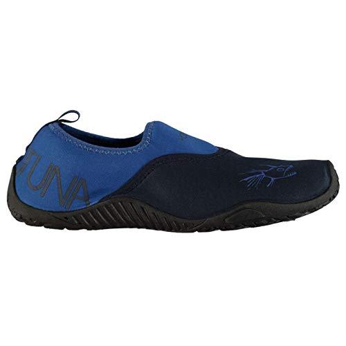 Hot Tuna Mens Aqua Water Shoes Splasher Pattern Print