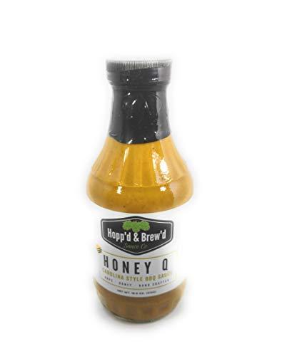 - Hopp'd & Brew'd Honey Q, Beer BBQ Sauce, Beer Mustard Dip, Carolina pulled Pork, Gourmet Grilling Marinade Sauce, Craft Beer BBQ Sauce, Special Sauce, Rochester Eats