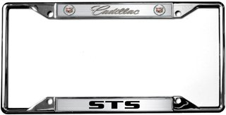 Eurosport Daytona- Compatible with -, Cadillac STS License Plate Frame