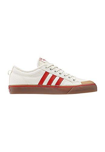 adidas Nizza Sneaker Uomo CQ2326 Owhite Corred Gum4