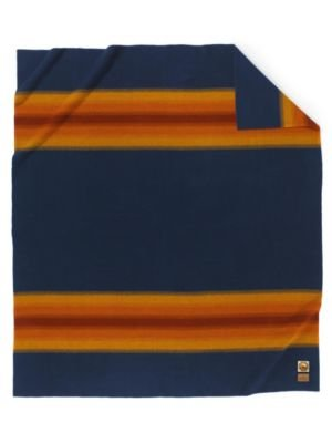 "Pendleton, Grand Canyon Navy National Park Blanket, Full - Each blanket has a Pendleton label signifying authenticity with the park name and the image of an important national feature. 80"" x 90"" 100% Wool - blankets-throws, bedroom-sheets-comforters, bedroom - 316Fimlrw9L -"