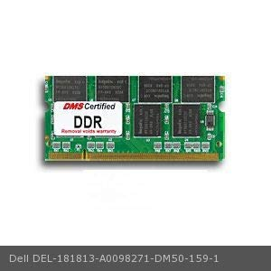 DMS Compatible/Replacement for Dell A0098271 Inspiron 600m 512MB DMS Certified Memory 200 Pin DDR PC2100 266MHz 64x64 CL 2.5 SODIMM 16 Chip - DMS