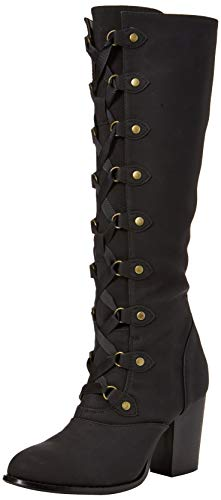 black Browns Bottes Joe Stylish Noir Boots Femme B Signature PxRaRz0