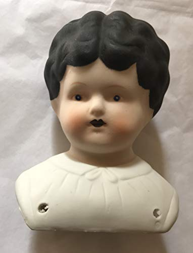 Craft 1 Piece of Porcelain Bisque 'Ethyl' Style Doll Head 5
