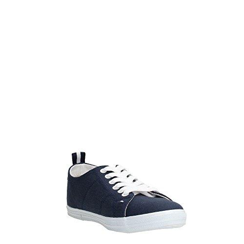 Trussardi Jeans 79S083 Sneakers Donna Tessuto Blu Denim Blu Denim 40