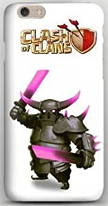 Customized Clash of Clan PEKKA iPhone 6 Hard Plastic Personalized Protected Case-- Design by Orange Accessories