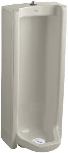 Kohler K-4920-T-G9 Branham Urinal with Top Spud, Sandbar (Branham Urinal)