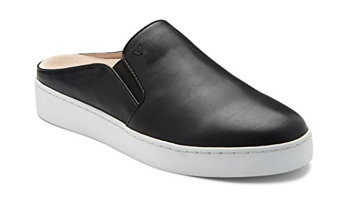 Vionic Women's Splendid Dakota Slip-on Mule Black 8.5 M US (Dakota Black Leather)