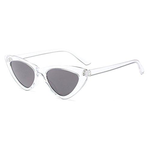 triangulares las de gato Gafas de del mujeres ojo atractivas C9 Gafas sol rojas retro de sol pequeñas de qwgU7q