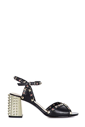 Ash Femme 310012002 Noir Cuir Sandales