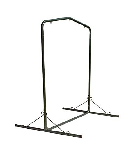Pawleys Island Deluxe Steel Textured Swing Stand, Forest ()