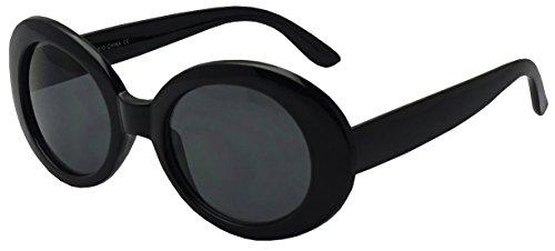 b97f9eb40b7 Colorful Oval Kurt Cobain Inspired Clout Goggles Mod Round Pop Fashion  Nirvana Sunglasses