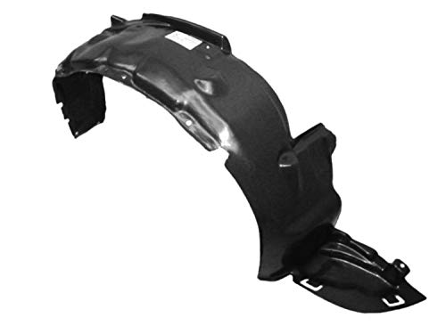 Parts N Go 1992-1995 Civic Fender Liner Passenger Side RH Splash Shield - HO1249102, 74101SR3000 ()
