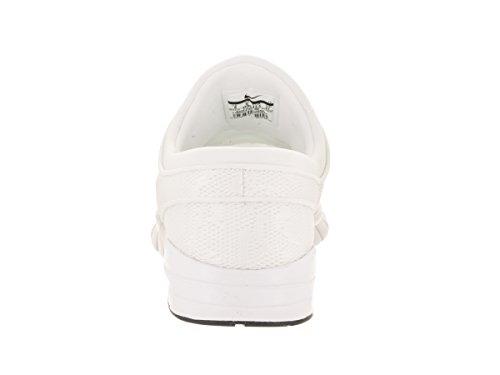 Nike Mens Bruin Metà Scarpa Casuale Bianco / Bianco-ossidiana