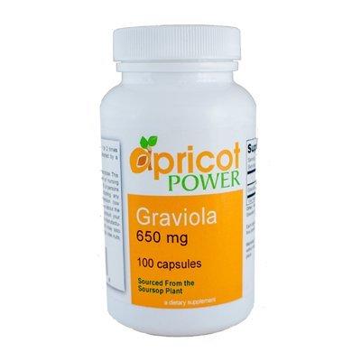 Graviola - 650 Mg, 100 Capsules
