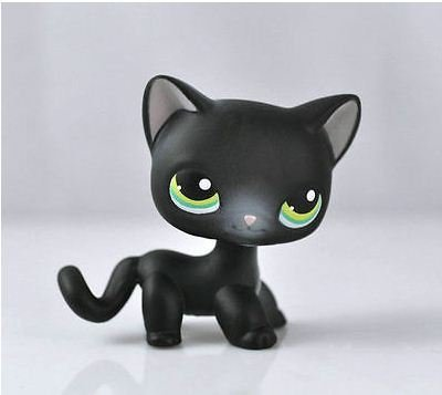 Five stars store Pet Short hair Cat Collection Child Girl Boy Figure Toy Loose Cute