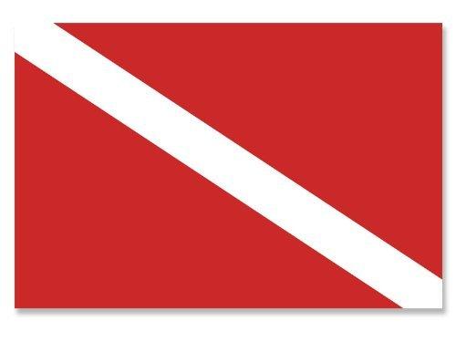 Commercial Dive Boards (MAGNET Scuba Dive Flag Magnetic Sticker (diving diver decal))