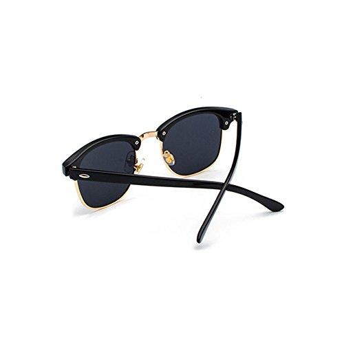 Aoligei Classique polarisée lunettes de soleil lady masculins tendances lunettes de soleil B