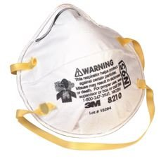 3M Disposable Respirator, N95, 20 Pack
