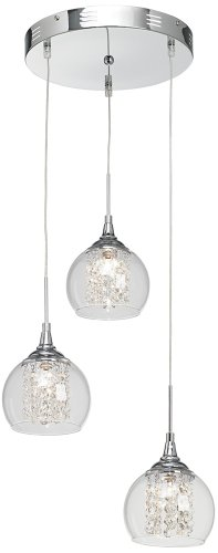 Glass And Crystal Pendant Lights